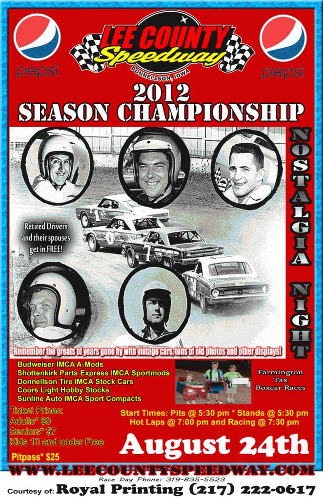 2012 Season Championship