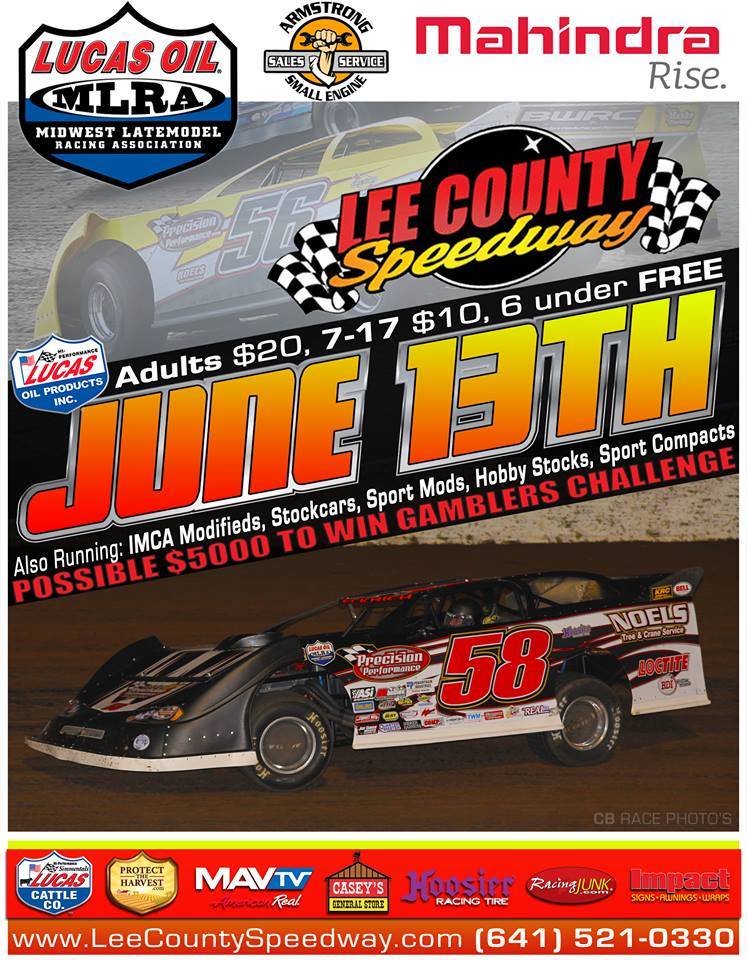 Lucas Oil MLRA and Corn Belt Clash Late Models