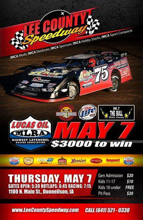 Lucas Oil MRLA Late Models - May 7th